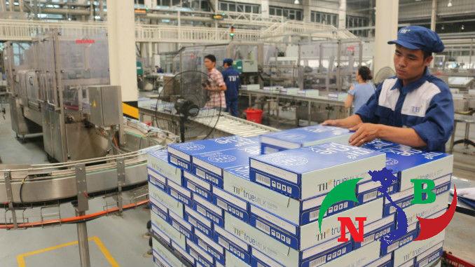 Kho lạnh bảo quản sữa tại doanh nghiệp chế biến sữa