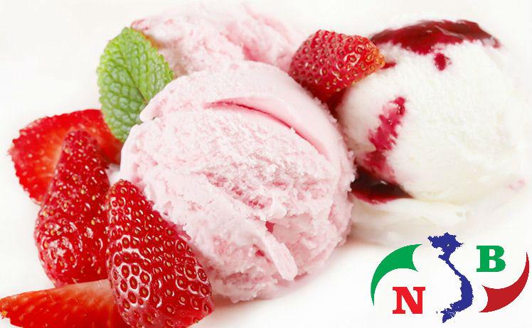 Kem tươi ngon nhờ bảo quản trong kho lạnh bảo quản kem