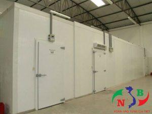 Lắp đặt kho lạnh công nghiệp để bảo quản hoa quả