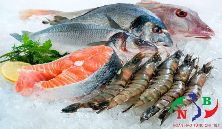 Hải sản cần được bảo quản trong kho lạnh