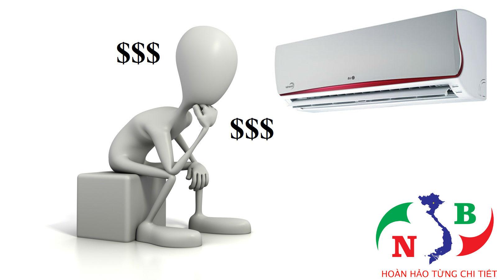 mức tiêu hao điện năng của máy lạnh