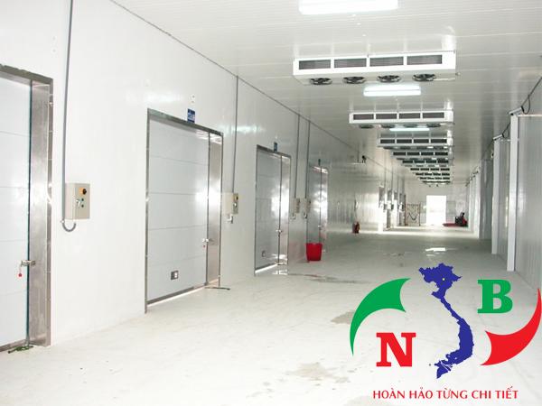 Thi công kho lạnh chuyên nghiệp, thiết kế đạt tiêu chuẩn quốc tế