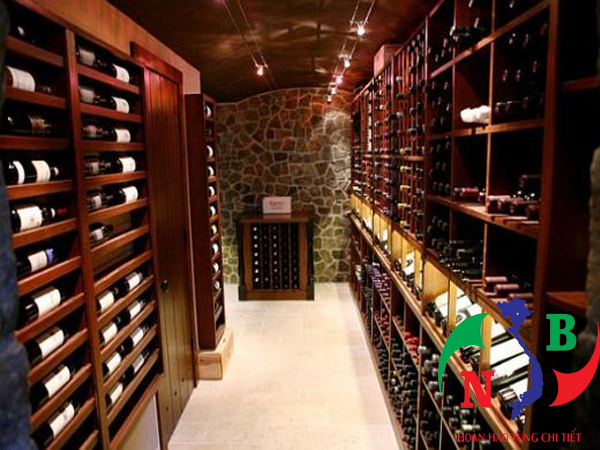 Tiêu chuẩn cho một kho lạnh bảo quản rượu hoàn hảo