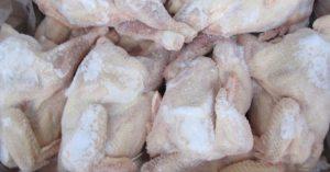 Sử dụng kho lạnh để bảo quản thịt gà
