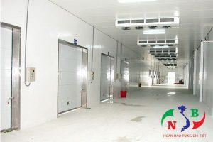 Thiết kế và thi công lắp đặt kho lạnh công nghiệp đúng tiêu chuẩn
